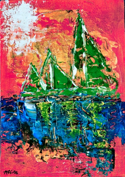 Tres que naveguen junts- omnia-art.net imagen con copyright